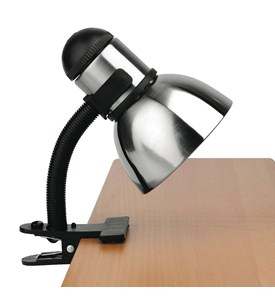 Henrik Adjustable Clip-On Desk Lamp Image