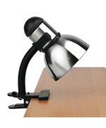 Henrik Adjustable Clip-On Desk Lamp