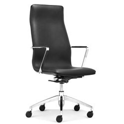 Herald High Back Office Chair by Zuo Modern Image