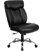 Hercules Series 350 lb. Capacity Big & Tall Leather Office Chair by Flash Furniture