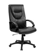 High Back Leather Executive Swivel Office Chair by Flash Furniture