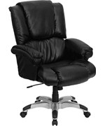 High Back Leather OverStuffed Executive Office Chair by Flash Furniture