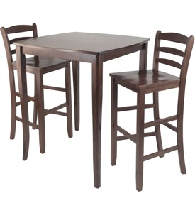 High-Top Dining Table and Chairs Image