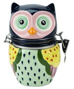 Hinged Jar - Owl