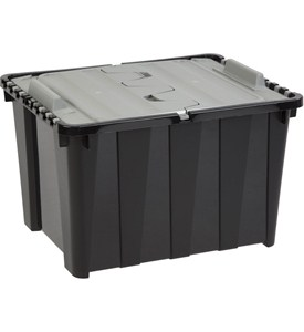 Hinged Lid Storage Box - 12 Gallon Image