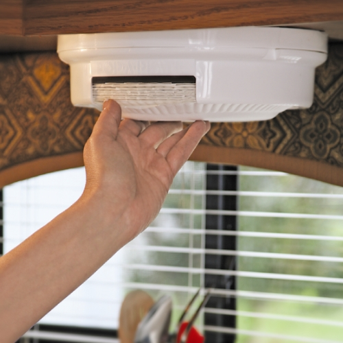 Paper Plate Dispenser In Rv Accessories