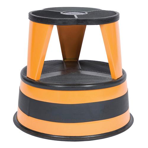 Cramer Kik Step Rolling Step Stool Orange In Step Stools