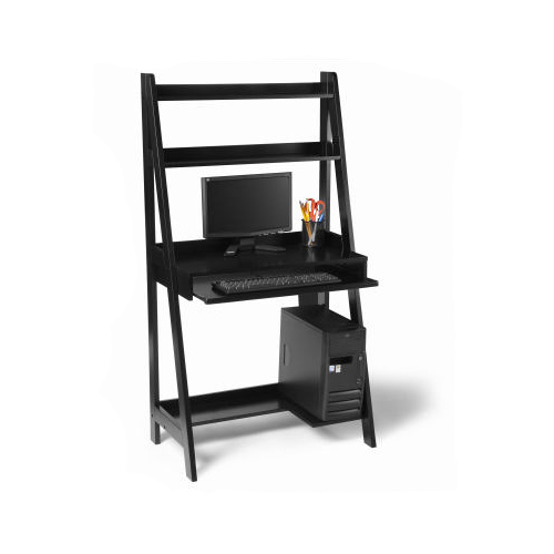 black wood office desk in desks and hutches