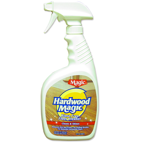 Magic hardwood floor cleaner in household cleaning products for Hardwood floor cleaner