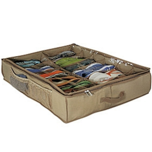 Underbed Shoe Storage Organizer Cedar In Cedar Clothing