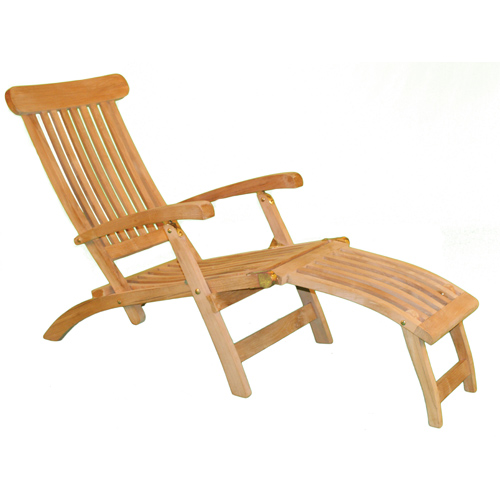 Teak Chaise Lounge Chair in Outdoor Lounge Chairs