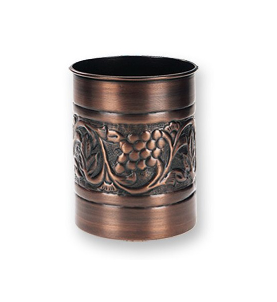 Kitchen Tool Caddy Copper Finish In Kitchen Utensil Holders