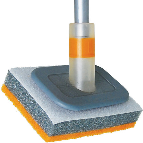 flex neck tub and tile scrubber refill in cleaning brushes