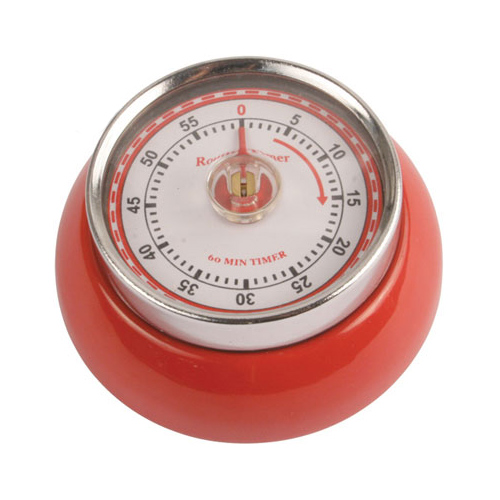Magnetic Kitchen Timer Red in Kitchen Timers