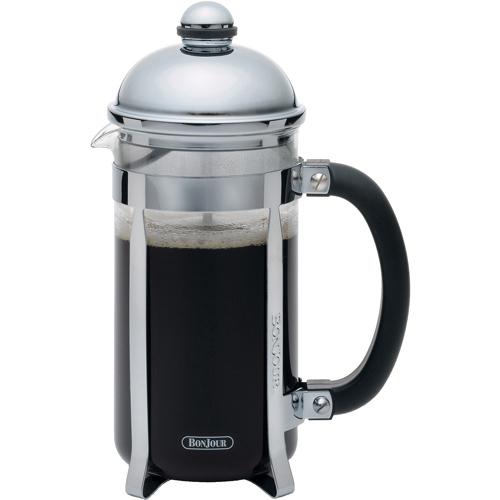 Coffee Maker Or Press : Bonjour French Press Coffee Pot - Mirror Polish in French Press Coffee Makers