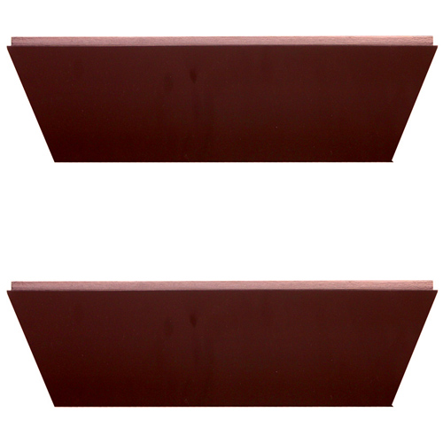 nexxt conrad 12 inch floating wall shelf java set of 2 in wall mounted shelves. Black Bedroom Furniture Sets. Home Design Ideas