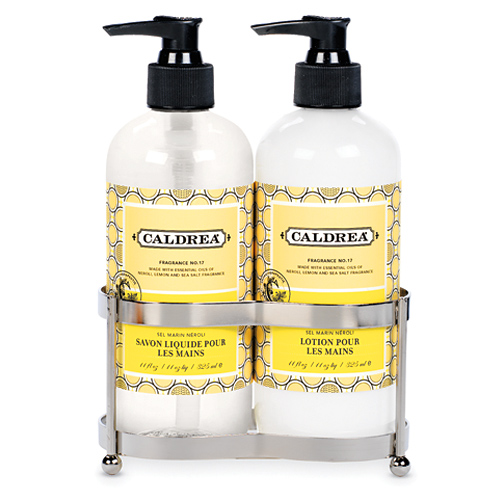 Caldrea Hand Soap And Lotion Set Sea Salt Neroli In Soap