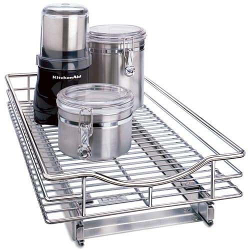 kitchen cabinet pull out baskets chrome roll out cabinet organizer