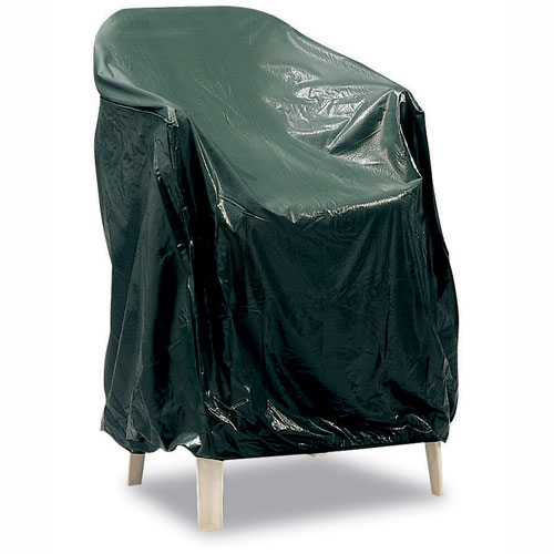 Reversible Vinyl Single Patio Chair Cover in Patio Furniture Covers