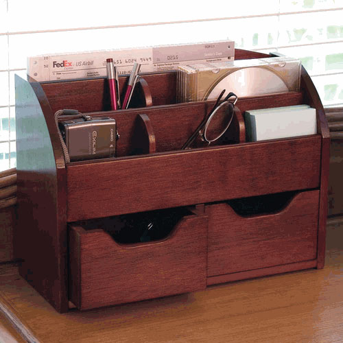 Cherry space saving organizer in desktop organizers - Cherry desk organizer ...