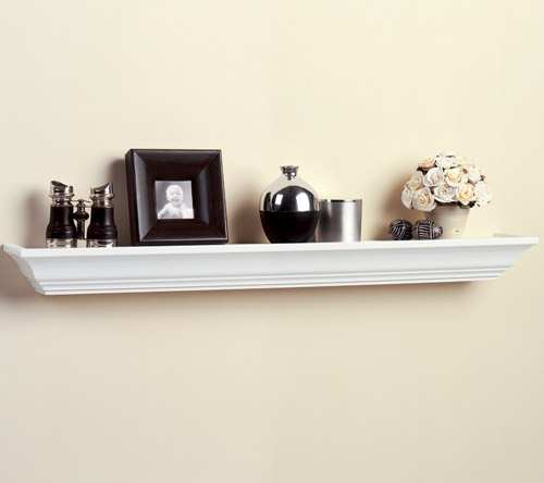 ... Household Shelving > Wall Mounted Shelves > Wood Ledge Shelf - 36 Inch