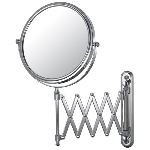 Wall Mirror With Extension Arm In Wall Mirrors