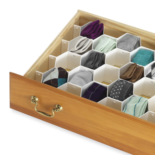 drawer organizers closet drawer organizers honeycomb drawer