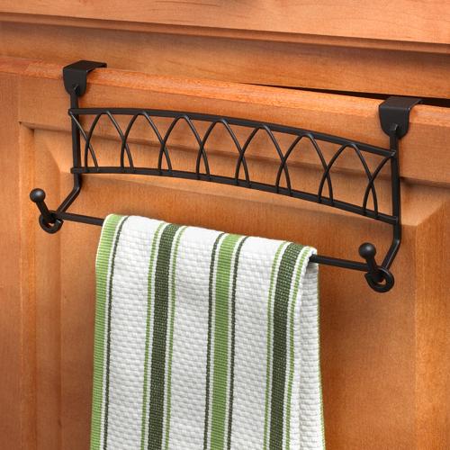 twist over cabinet towel bar in over the door towel racks
