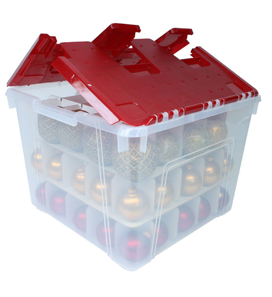 ... Holiday Storage > Ornament Storage Boxes > Christmas Ornament Storage