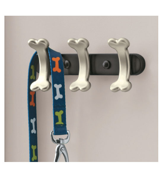 Dog Bone Leash Hook In Pet Organizers