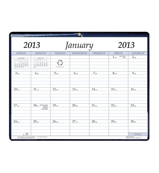 Desk Organizers > Calendars and Planners > 2013 Magnetic Wall Calendar ...