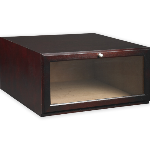 boot stackable shoe storage box mahogany in shoe boxes