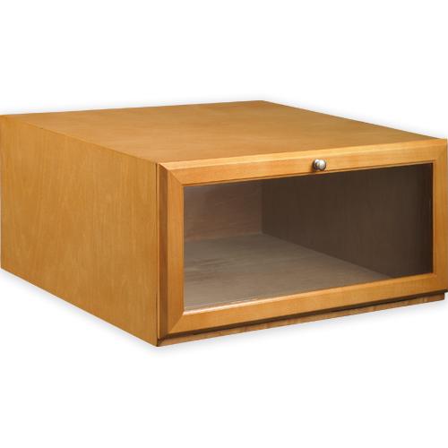 Shoe Storage > Shoe Boxes > Boot Stackable Shoe Storage Box - Maple