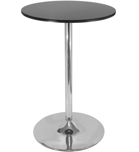 Dining Furniture Dining Tables 40 Inch Polished Steel Pub Table