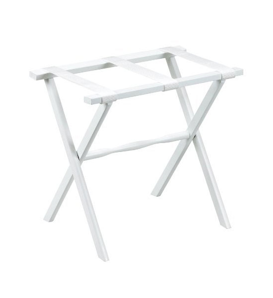 Luggage stand white center
