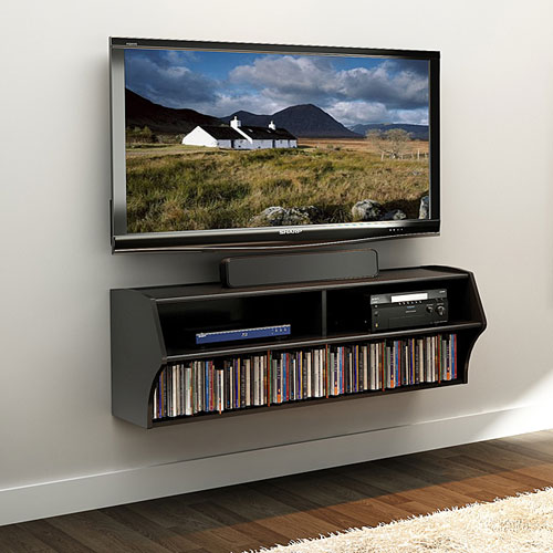 floating entertainment shelf 3