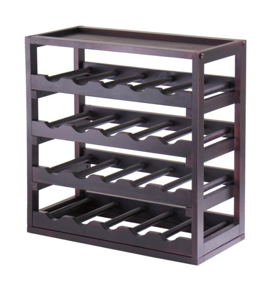 20 bottle tray wine rack in wine racks and cabinets