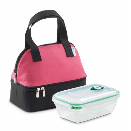 Freshvac Insulated Lunch Bag Pink In Lunch Bags