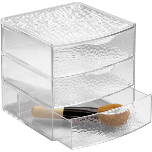 Acrylic Cosmetic Organizer With Drawers Large In