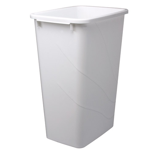 Replacement trash bin 50 quart in kitchen trash cans for Kitchen garbage cans