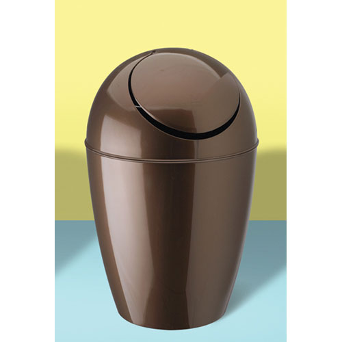 bathroom accessories small trash cans umbra sway trash can