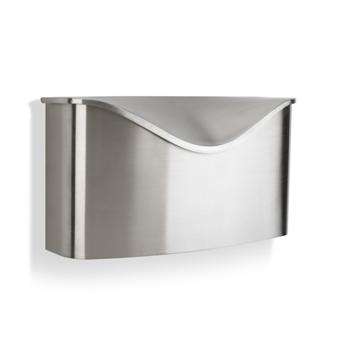 Umbra Mailbox Brushed Stainless Steel In Home Mailboxes