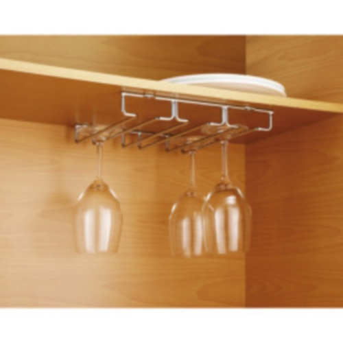 Ikea Flaxa Bettgestell Mit Kopfteil ~ Chrome Collection Wine Glass Rack Under Cabinet  eBay