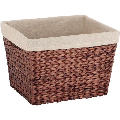 Jo-Ann's selection of decorative storage baskets keep your household items organized and your living space cozy. Gone are the days of drawers and bins – baskets will stow your items in style. Lined hampers make laundry day a breeze, and woven baskets are a perfect and polished storage option for the kitchen, bathroom, or bedroom.