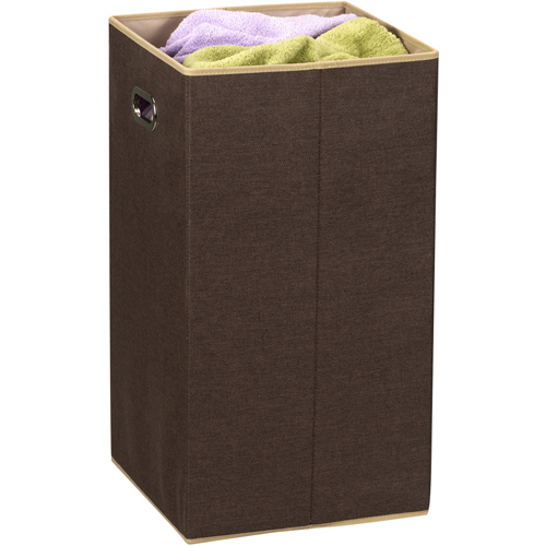 Folding clothes hamper with handles in clothes hampers - Collapsible clothes hamper ...