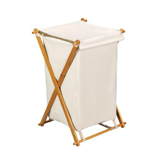 Folding wood hamper in clothes hampers - Collapsible clothes hamper ...