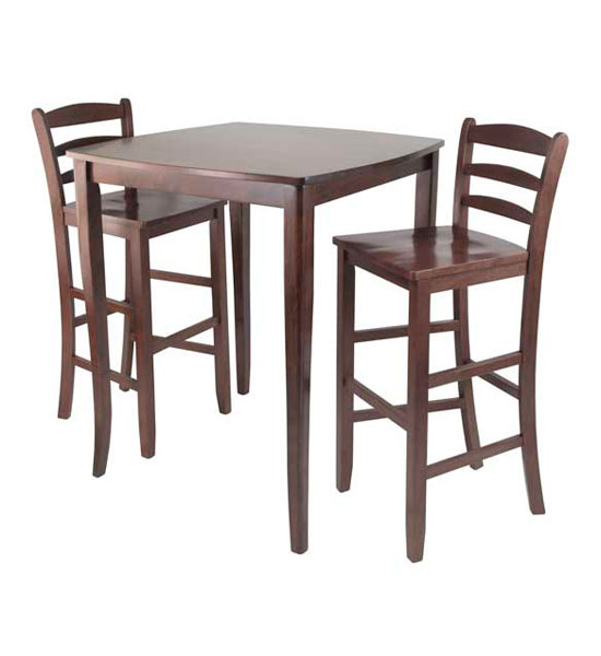 High top dining table and chairs in bar table sets for High chair dining table set