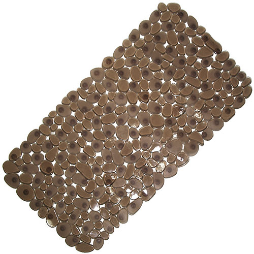 Pebble Bath Mat Amber In Shower And Bath Mats