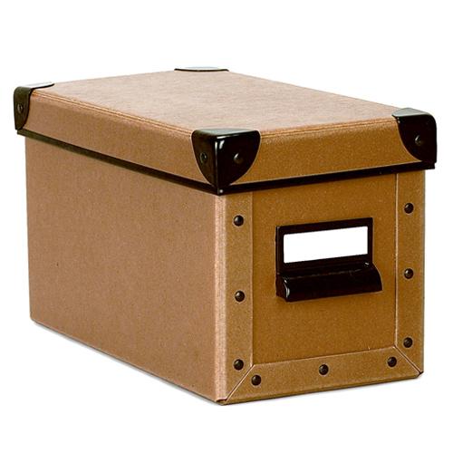 Cargo Cd Box Nutmeg In Media Storage Boxes