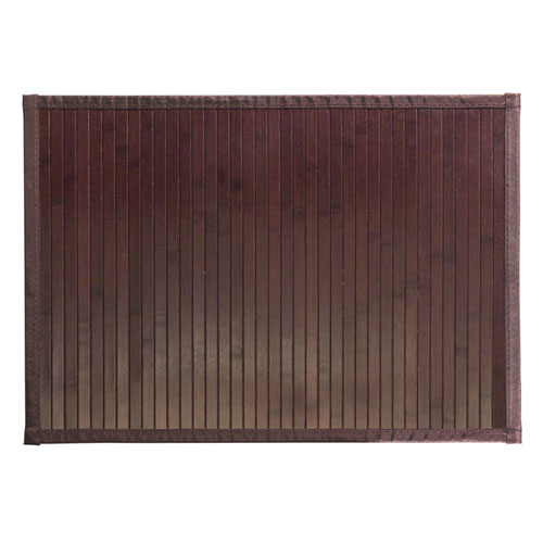 Formbu Mocha Bamboo Mat Small In Shower And Bath Mats